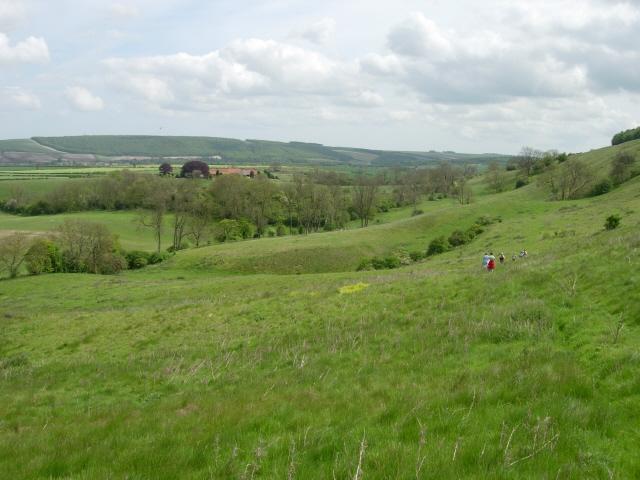 The view across Bassett Brow