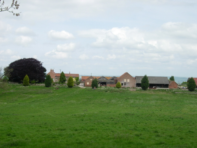 Farm and buildings at Rowgate