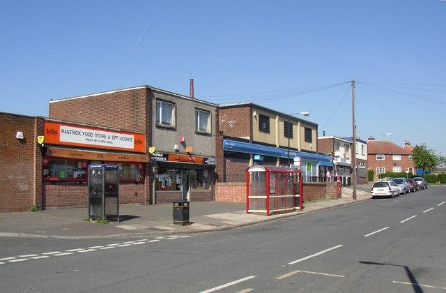 Shops, Highfield Road, Rastrick