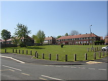 SE1321 : Open space off Highfield Road, Rastrick by Humphrey Bolton