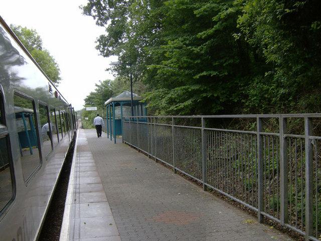 Sarn Station, near Bridgend