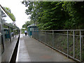 SS8983 : Sarn Station, near Bridgend by John Martin