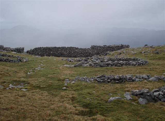 """Camp"" on Creach Bheinn"