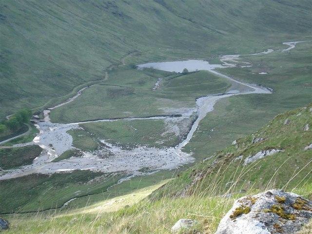 Breached Reservoir, Glen Galmadale