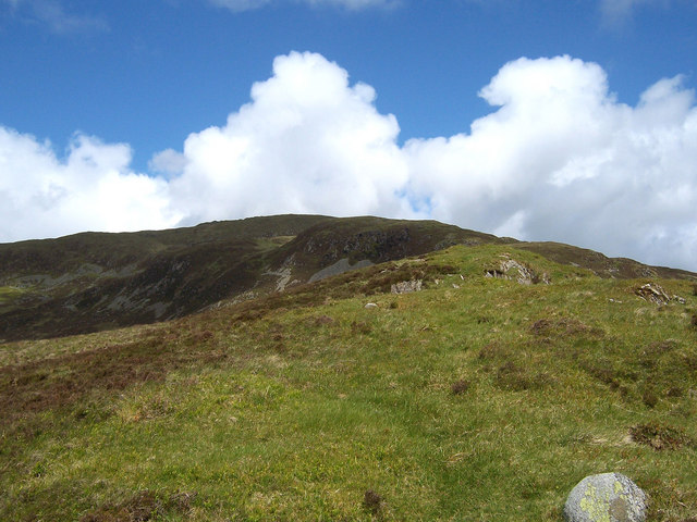 The south-east ridge of Millfore