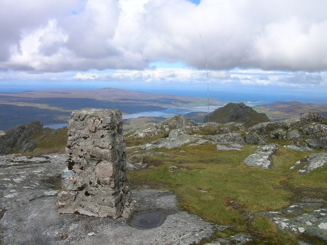 View from top of Ben Loyal