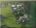 SO5425 : Pengethley Manor Hotel from the air by Pauline E