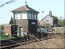 TQ3616 : Plumpton Green signal box by David Gibbs