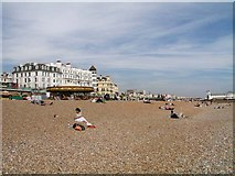 TQ3103 : Brighton Beach on a perfect day by Andy Potter