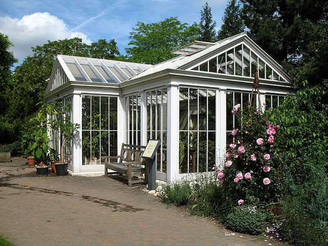 Conservatory in the Secluded Garden