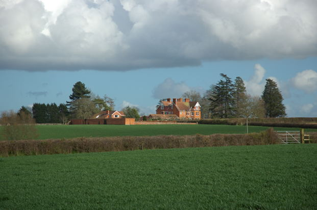 Large house near North Curry