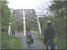NZ1164 : Hagg Bank Bridge, Wylam by Stephen Craven
