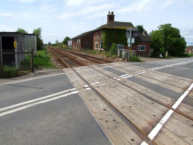 Railway Crossing, Eastville