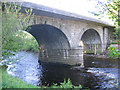 NY7146 : Bridge over the South Tyne at Alston by Stephen Craven
