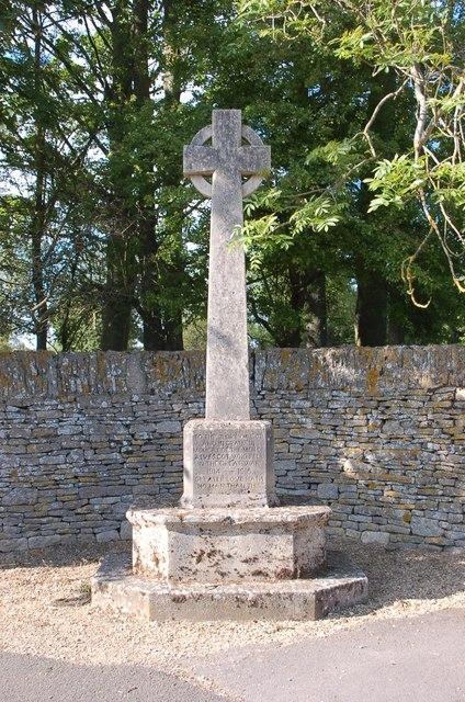 Alvescot War Memorial