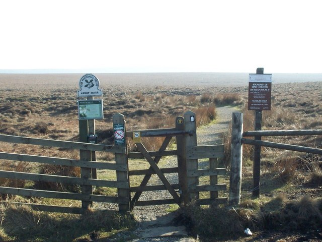 Pennine Way at A57 Summit