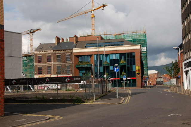 """The """"Aurora"""" site, Belfast"""