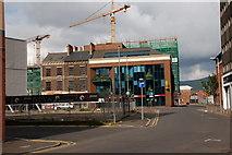 """J3373 : The """"Aurora"""" site, Belfast by Albert Bridge"""