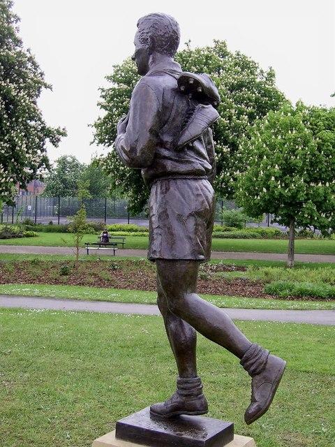 Brian Clough's statue, Albert park Middlesbrough