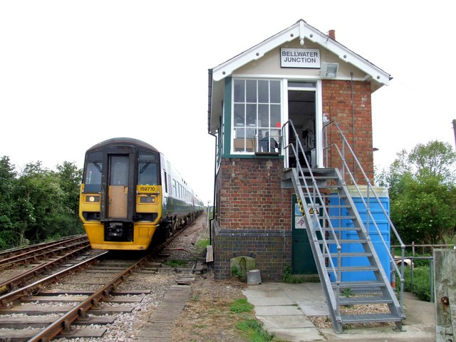 Signal Box, Bellwater Junction
