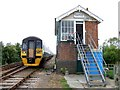 TF4259 : Signal Box, Bellwater Junction by Dave Hitchborne