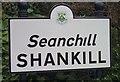 O2521 : Shankill sign by Raymond Okonski