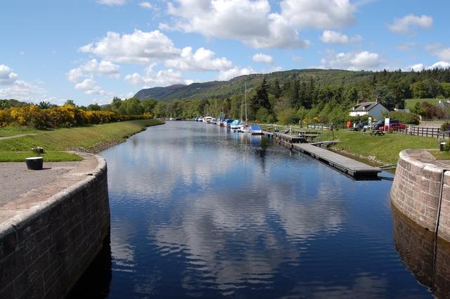 Caledonian Canal at Dochgarroch by John Allan
