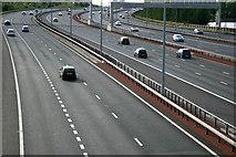 SJ8092 : M60 Motorway adjacent to Sale Water Park by Phil Champion