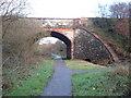 NX9914 : Cycle Path under old railway bridge by Adie Jackson