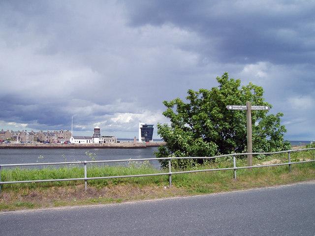 Coastal footpath