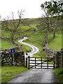 SE0199 : Steep hill to Thirns. by Gordon Hatton
