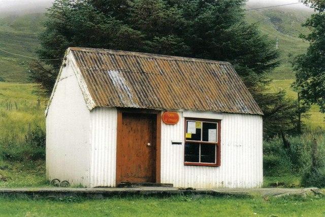 Sconser: tin-hut post office