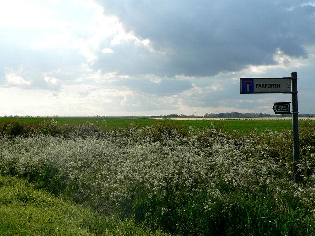 Farforth Road Junction, Maidenwell