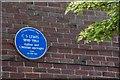 J3774 : C S Lewis plaque, Belfast by Albert Bridge