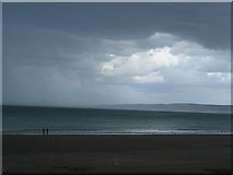 TA1280 : Filey seafront on a cloudy, wet day by Siobhan Brennan-Raymond