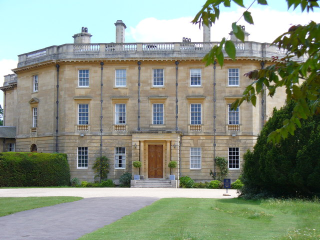 Exbury House, the North Front by Colin Smith