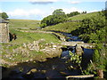 SX5974 : Blackbrook River and Clapper Bridge by Ruth Sharville