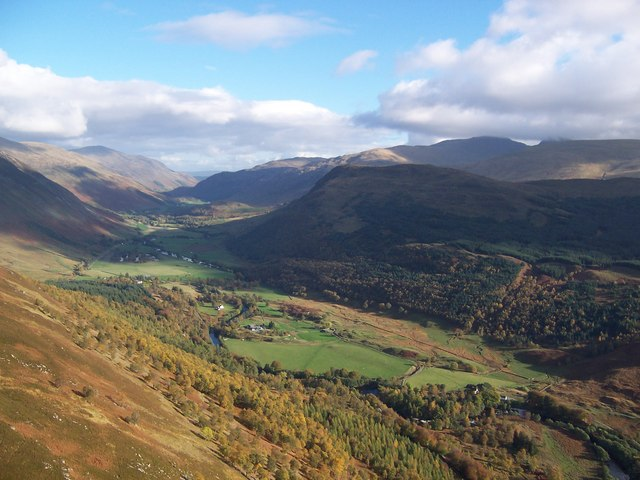 Glen Lyon from the air