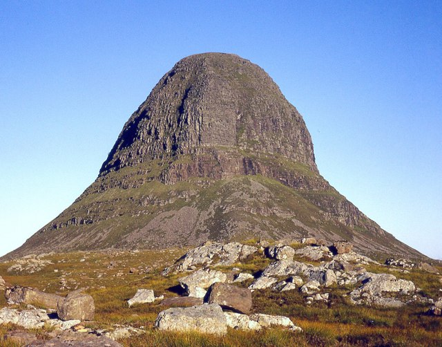 Suilven, Caisteal Liath, NW buttress