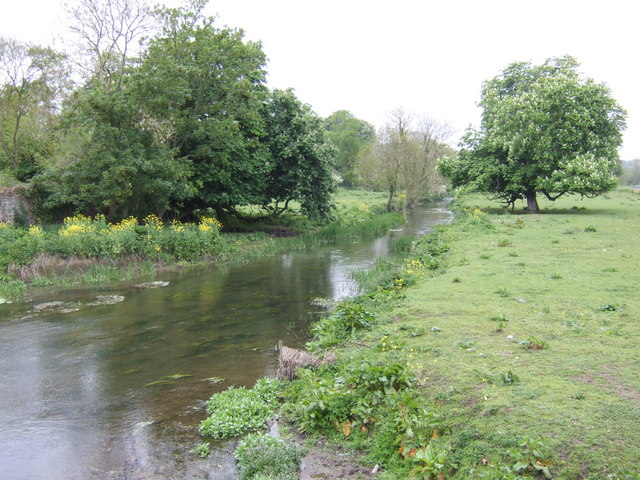 River Nanny at Beaumont Bridge - upstream