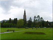 NY3704 : Pitch, putt and crazy golf at Ambleside. by A Holmes