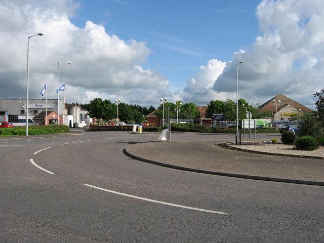 Morrisons Supermarket and Wincanton Transport offices