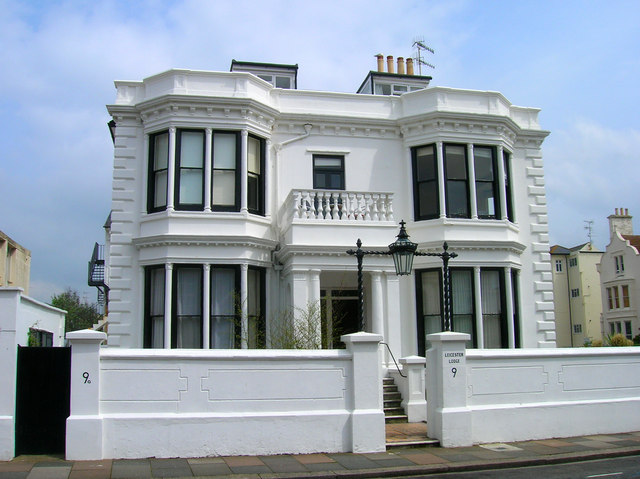 Leicester Lodge, Hove Place