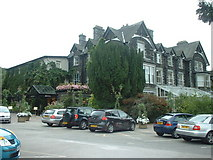 SD3787 : Lakeside Hotel at Newby Bridge by Adie Jackson