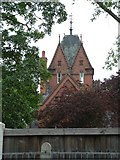 SK6443 : Red Brick Gothic by Donnylad