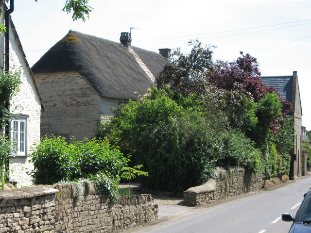 Thatched cottage and converted chapel