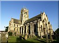 TA1828 : St. Augustine's Church, Hedon in the evening sunshine by Andy Beecroft