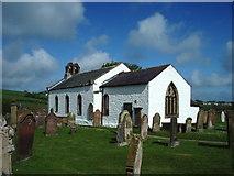NY2437 : St James Church, Uldale by Alexander P Kapp