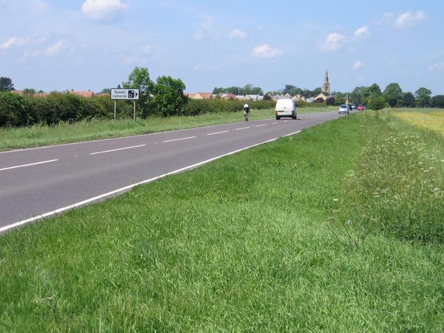 The A15 Peterborough Road, Langtoft, Lincs
