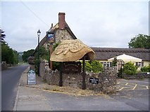SY2591 : The Harbour Inn Axmouth Devon by Pam Goodey